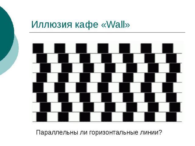 Иллюзия кафе «Wall»