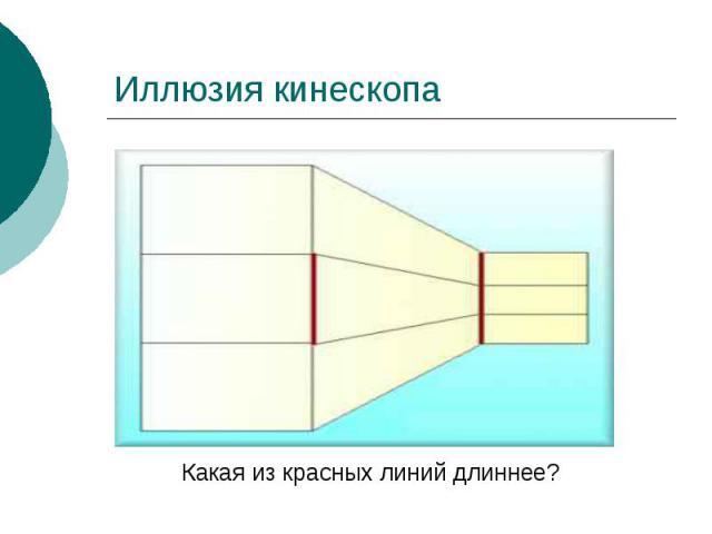 Иллюзия кинескопа