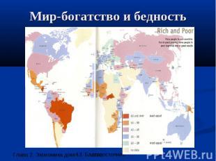 Мир-богатство и бедность