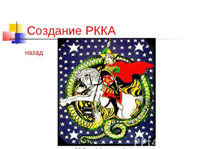 Создание РККА