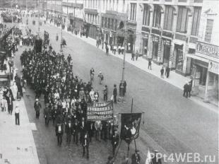 Осенью 1917 г.в стране обострился экономический кризис. Война забирала 80% всего