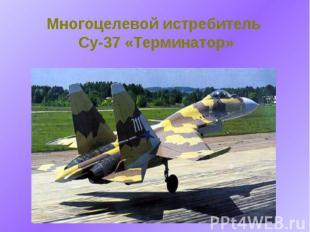 Многоцелевой истребитель Су-37 «Терминатор»