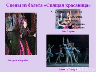 Сцены из балета «Спящая красавица»