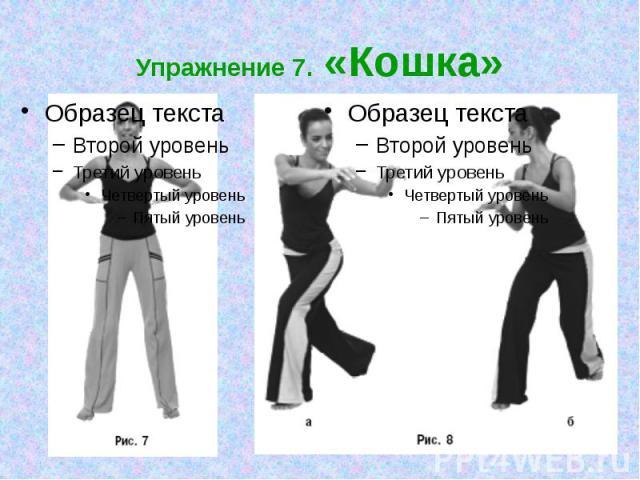 Упражнение 7. «Кошка»