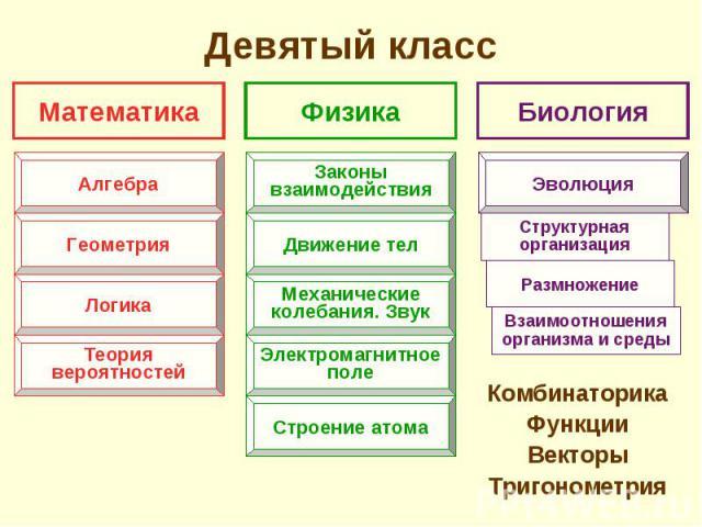Комбинаторика Комбинаторика Функции Векторы Тригонометрия