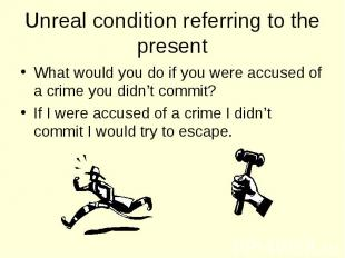 What would you do if you were accused of a crime you didn't commit? What would y
