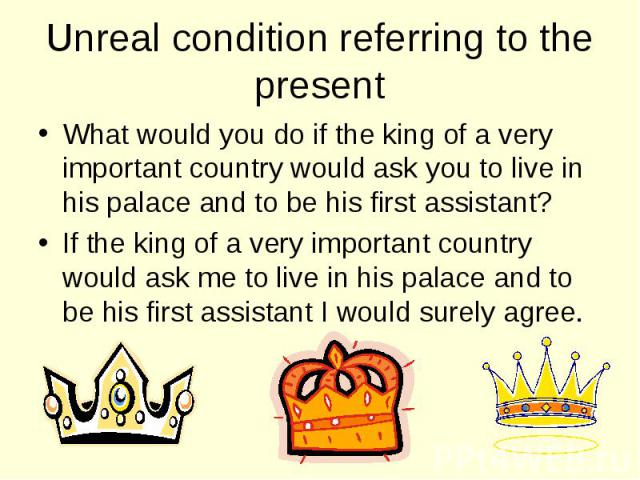 What would you do if the king of a very important country would ask you to live in his palace and to be his first assistant? What would you do if the king of a very important country would ask you to live in his palace and to be his first assistant?…