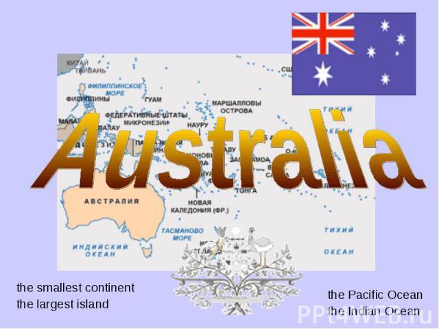 the smallest continent the smallest continent the largest island
