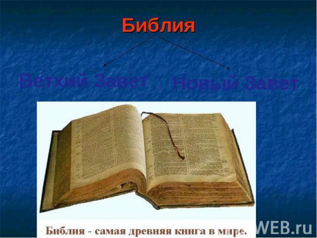 Библия Библия