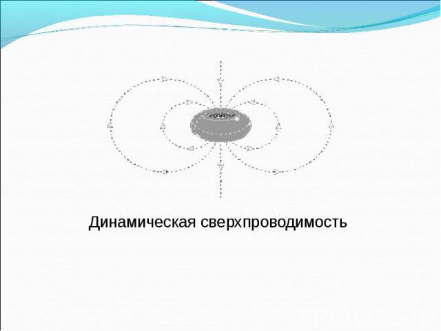 Динамическая сверхпроводимость Динамическая сверхпроводимость