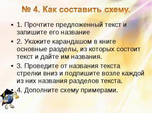 1. Прочтите предложенный текст и запишите его название 1. Прочтите предложенный