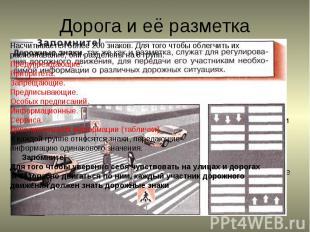 Дорога включает в себя одну или несколько проезжих частей, трамвайные пути, трот