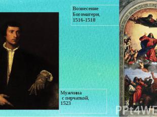 Мужчина Мужчина с перчаткой, 1523