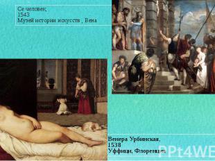 Венера Урбинская, Венера Урбинская, 1538 Уффици,Флоренция