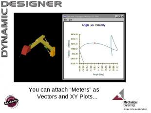 """You can attach """"Meters"""" as Vectors and XY Plots..."""