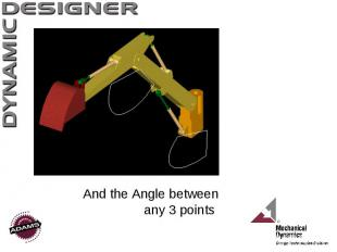 And the Angle between any 3 points