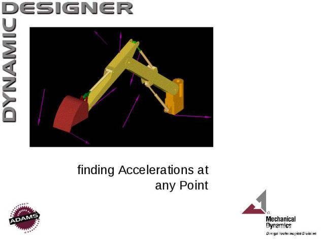 finding Accelerations at any Point