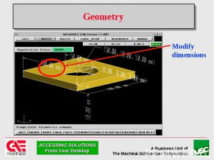 Geometry Modify dimensions