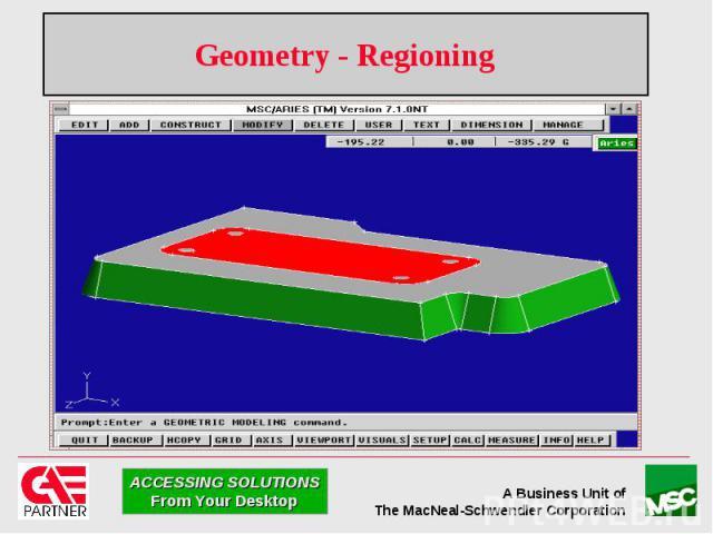 Geometry - Regioning