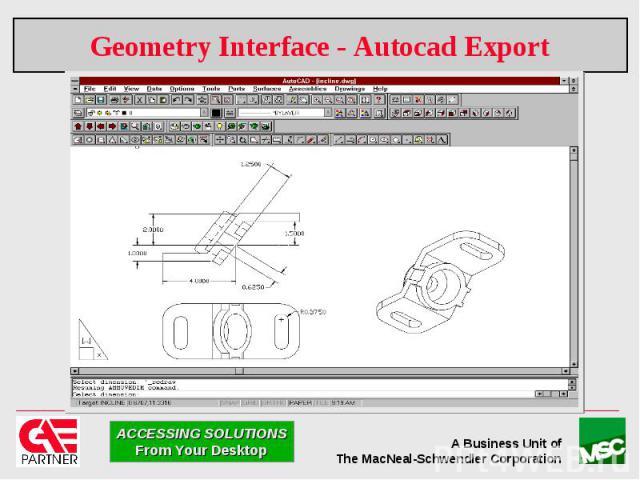 Geometry Interface - Autocad Export