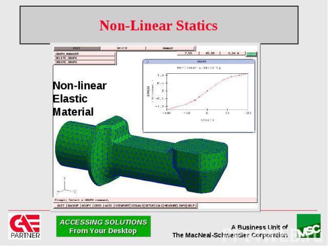 Non-Linear Statics