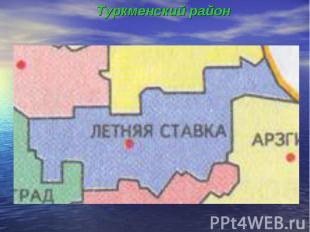 Туркменский район Туркменский район