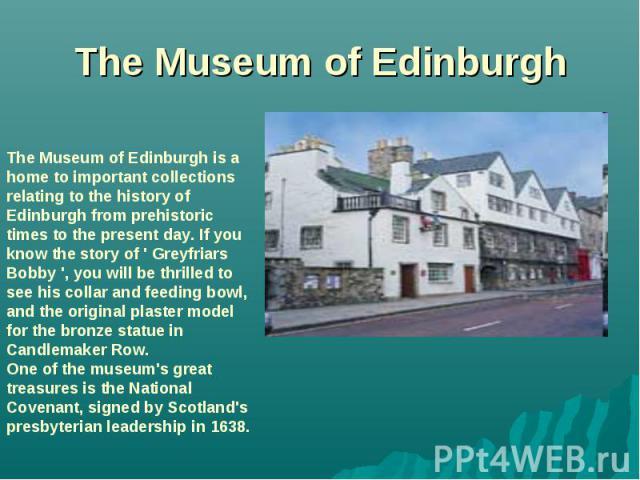 The Museum of Edinburgh
