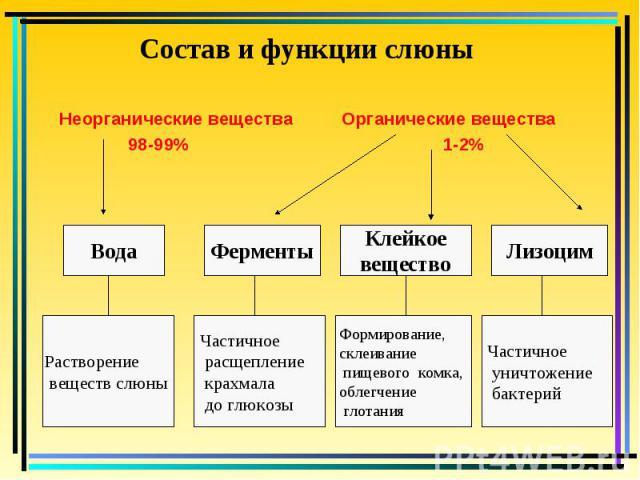 Неорганические вещества Органические вещества Неорганические вещества Органические вещества 98-99% 1-2%