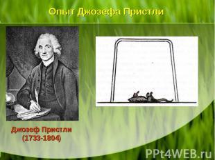 Джозеф Пристли (1733-1804) Джозеф Пристли (1733-1804)