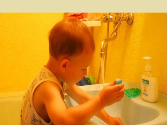 Если мальчик любит мыло И зубной порошок, Этот мальчик очень милый, поступает хорошо.