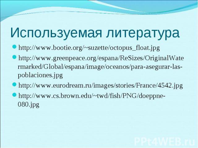 http://www.bootie.org/~suzette/octopus_float.jpg http://www.bootie.org/~suzette/octopus_float.jpg http://www.greenpeace.org/espana/ReSizes/OriginalWatermarked/Global/espana/image/oceanos/para-asegurar-las-poblaciones.jpg http://www.eurodream.ru/imag…