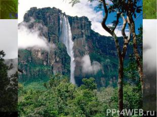 САМЫЙ ВЫСОКИЙ ВМИРЕ ВОДОПАД: Анхель (водопад Ангелов), Венесуэла, 979&nbsp