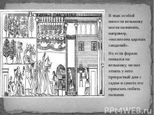 В знак особой милости вельможу могли назначить, например, «носителем царских сан