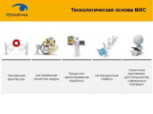 Технологическая основа МИС