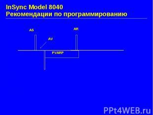 InSync Model 8040 Рекомендации по программированию