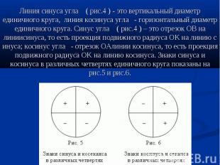 Линия синусаугла (рис.4)-это&nbs
