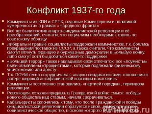 Коммунисты из КПИ и СРПК, ведомые Коминтерном и политикой «умеренности» в рамках