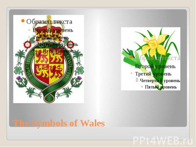 The Symbols of Wales