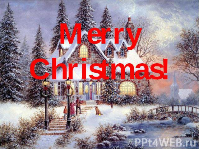 Merry Christmas! .