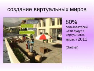 создание виртуальных миров