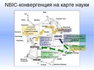 NBIC-конвергенция на карте науки