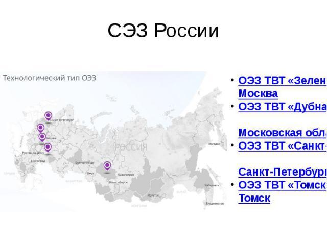 СЭЗ России