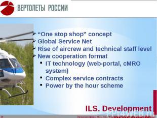 ILS. Development prospects