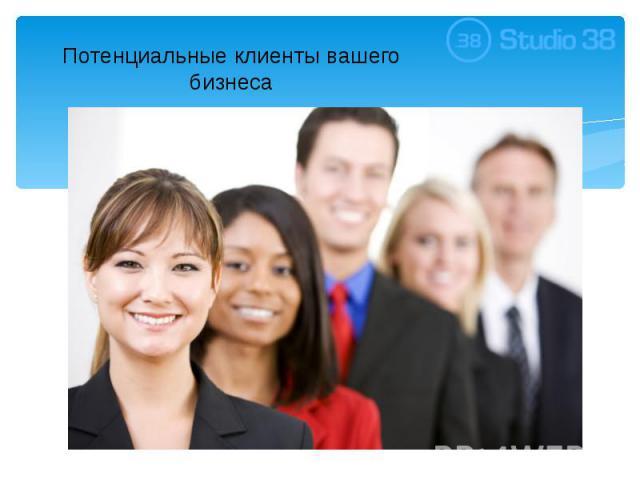 Потенциальные клиенты вашего бизнеса