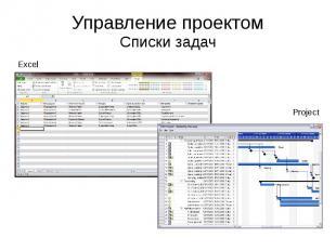 Управление проектом Списки задач