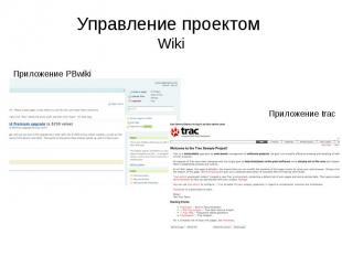 Управление проектом Wiki