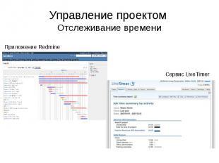 Управление проектом Отслеживание времени