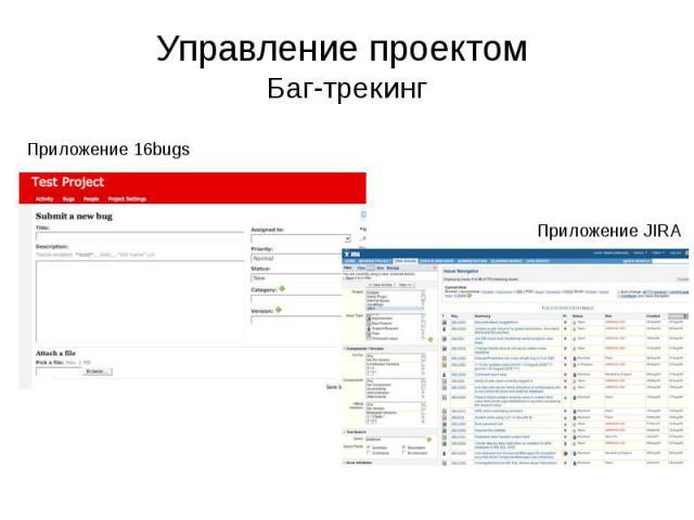 Управление проектом Баг-трекинг