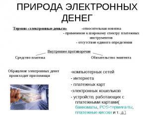-компьютерных сетей -компьютерных сетей - интернета - платежных карт -электронны