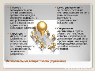 Система – совокупность или группа элементов, организованная для определенной цел